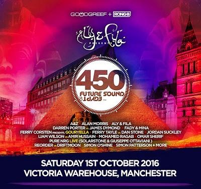 Aly & Fila pres FSOE 450 in Manchester