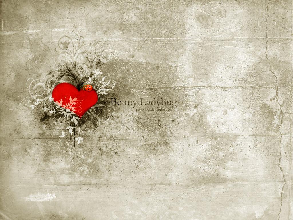 Let It Be Free Download - Heart Wallpaper 2011