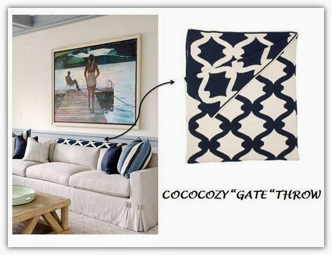 Cococozy living room decor 3 ways to use a throw blanket - Living room throw blankets ...