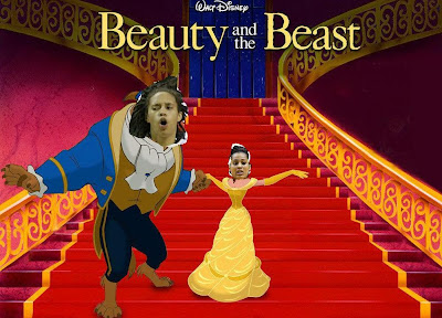 Britney Griner and Skylar Diggins star in Beauty and the Beast