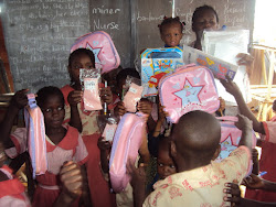 Donation of Education Gift Items to Kids
