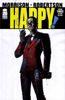 Happy # 3 - Grant Morrison Darick Robertson