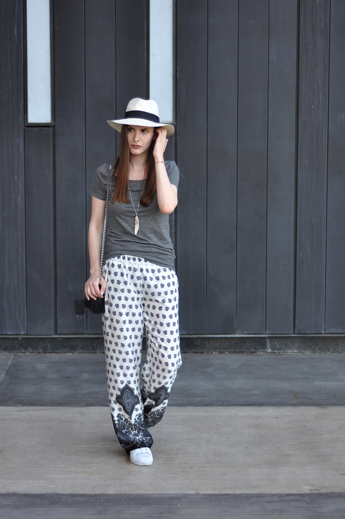 aleksandra skorupan, velvet and milk blog, street style, zara, adidas superstar