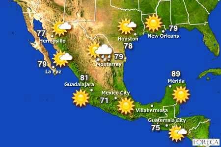 estado tiempo toda republica mexicana proximo dia: