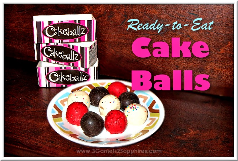 Cakeballz ready-to-eat cake balls