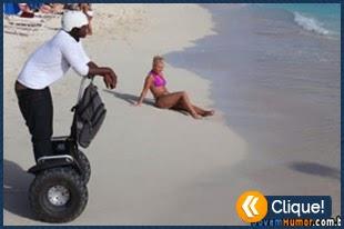Ter estilo na praia não é para qualquer um