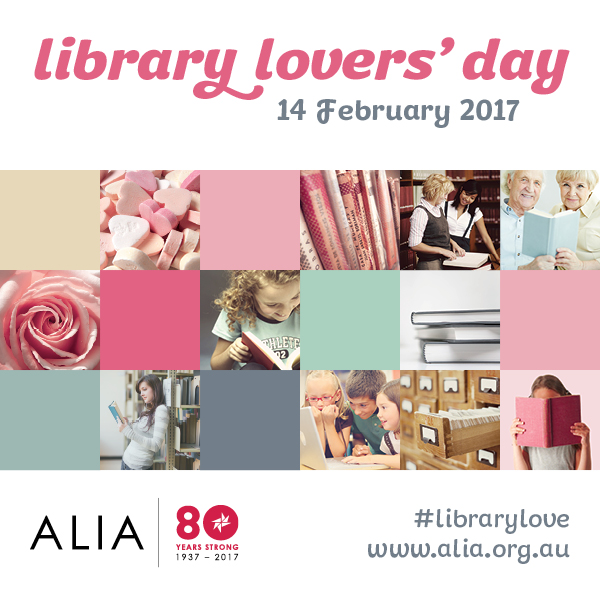♥ Library Lovers Day