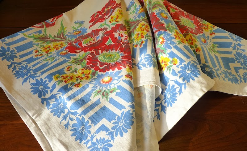 Mary Jo S Cloth Design Blog New Life For Vintage Tablecloths