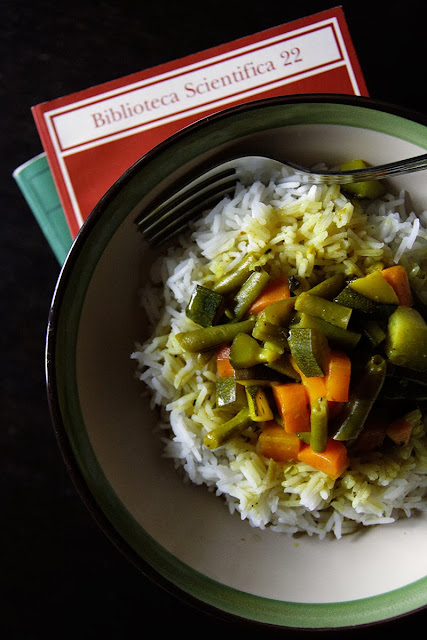 Curry di verdure al limone.
