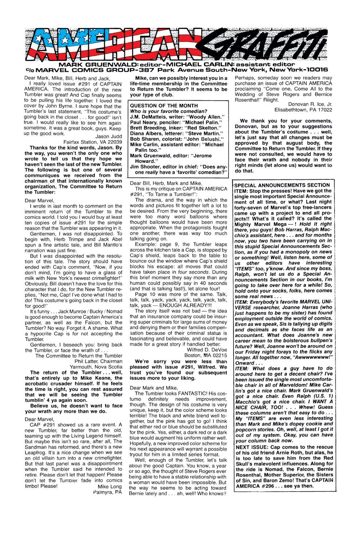 Captain America (1968) Issue #295 #223 - English 24