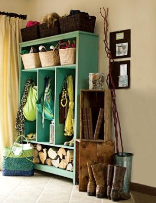 diy entry organization