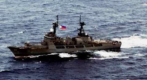 Gambar kapal Gregorio del Pilar class - Filipina