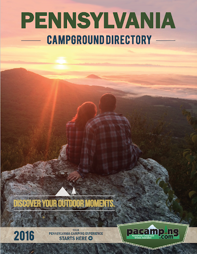 Pennsylvania Campground Directory now available