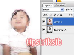 tutorial efek photoshop : cara membuat efek hologram dengan photoshop