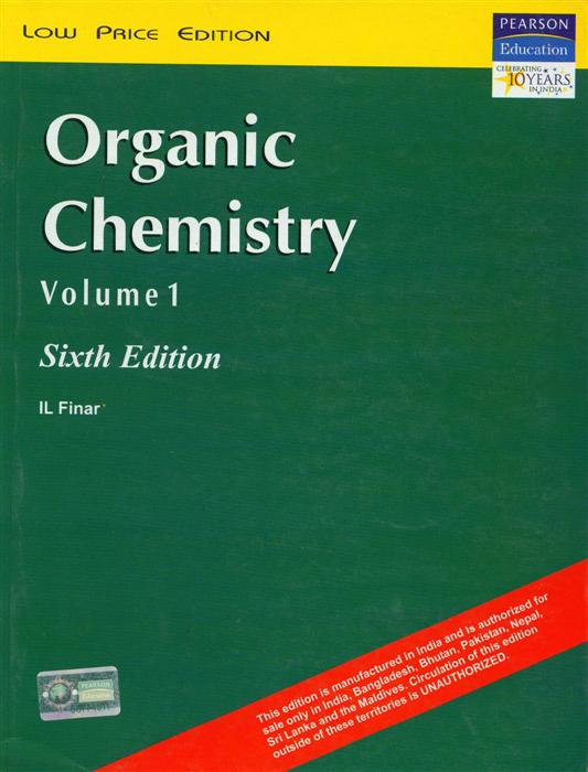 We Are Friend Organic Chemistry By I L Finar Volume 1