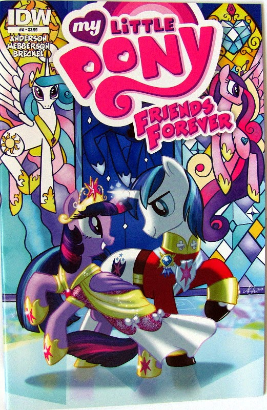 MLP: Friends Forever comic, regular (A) cover