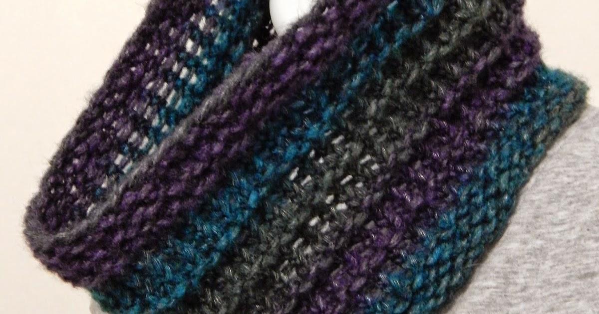 Cowl Loom Knitting Pattern : Jovial Knits: Loom Knit Cowl: Ridgeway Cowl