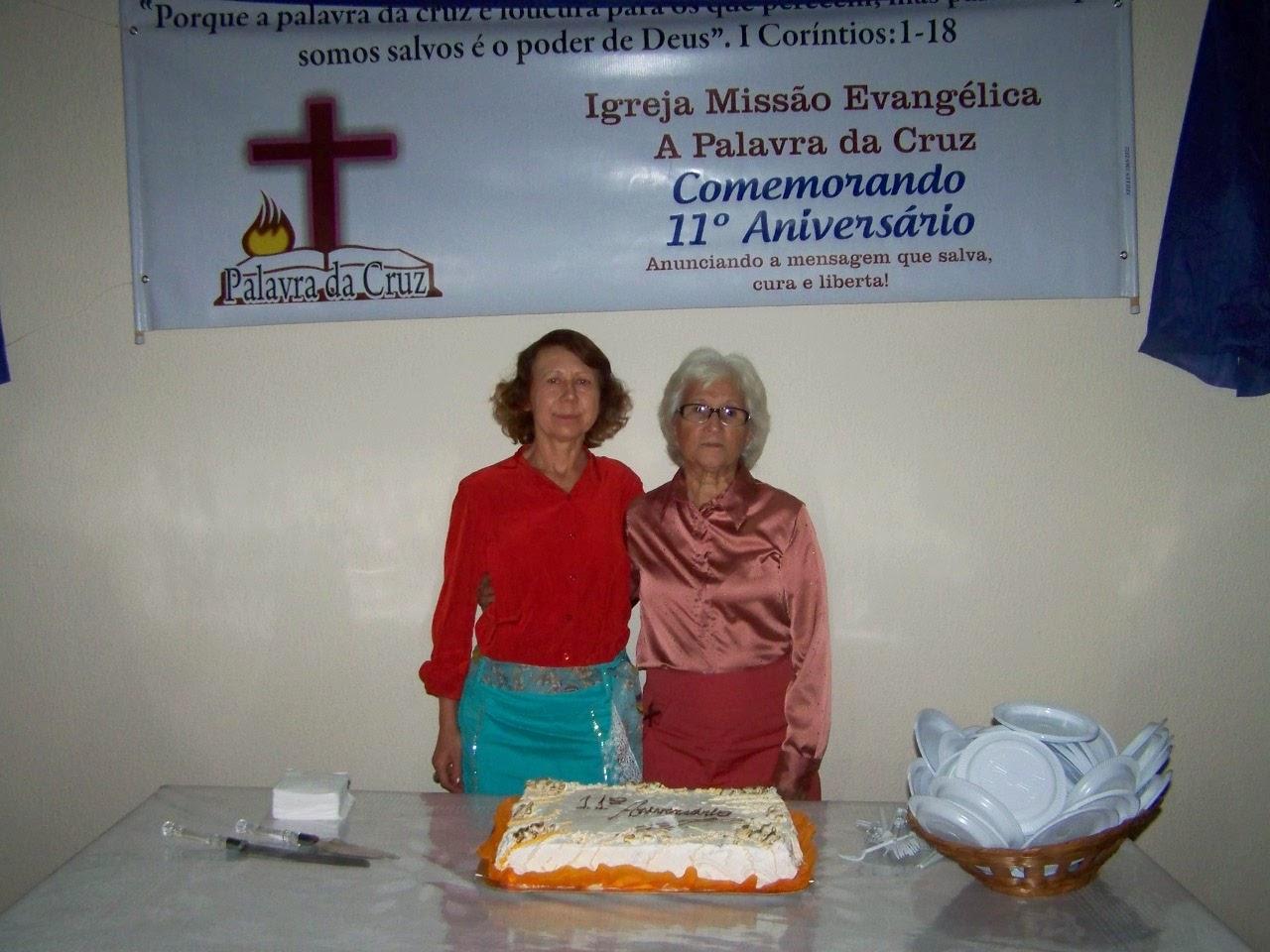 Pra Antonia e Pra Lidia - liderança