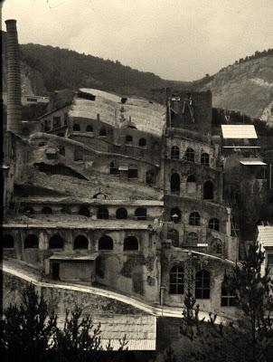 fabrica asland cemento tren guardiola castellar n'hug berga