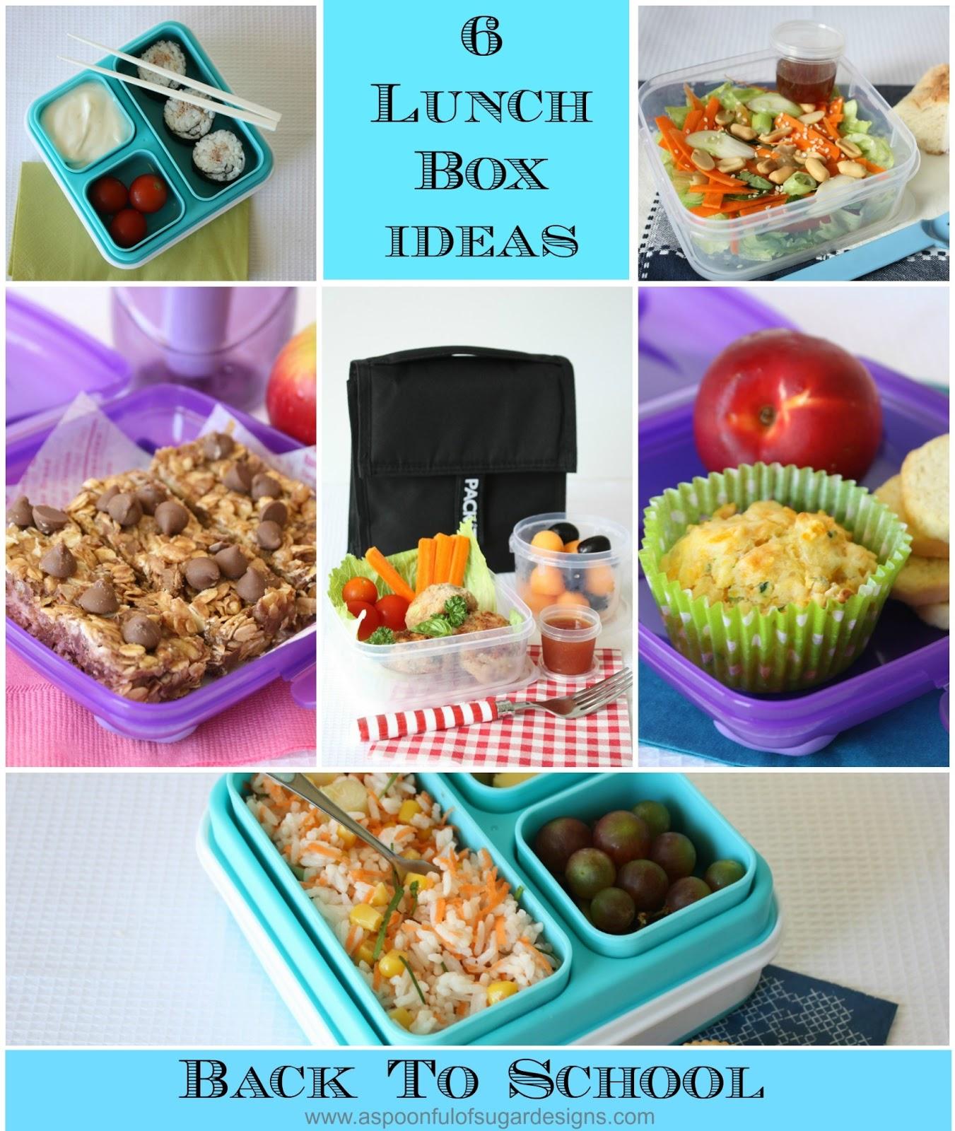 Lunch box ideas a spoonful of sugar lunch box ideas forumfinder Gallery
