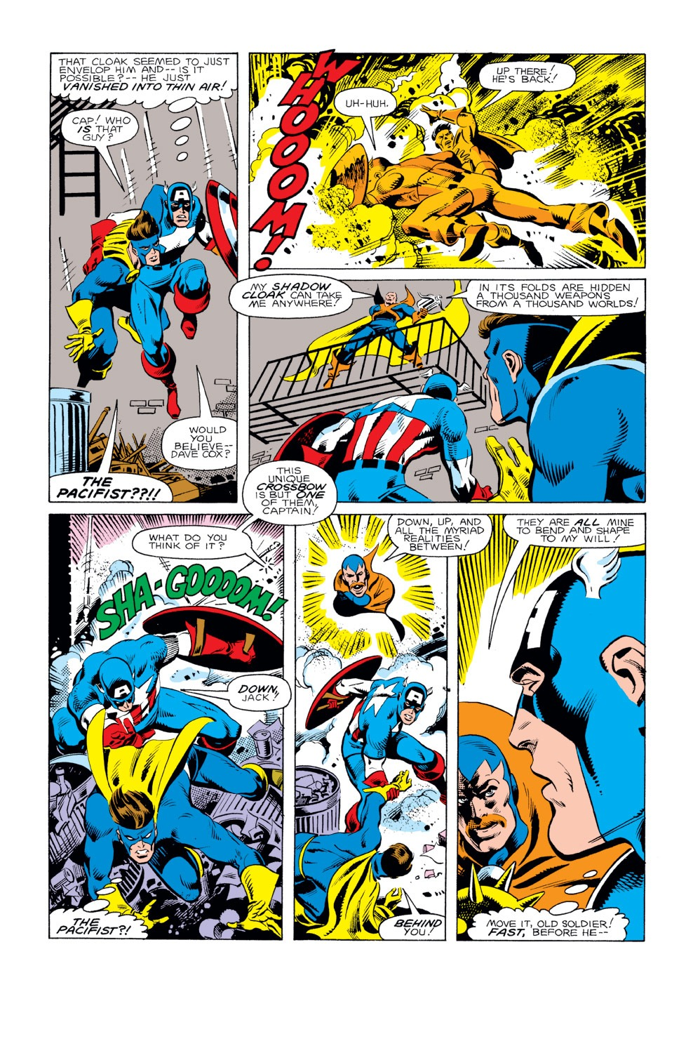 Captain America (1968) Issue #293 #221 - English 21