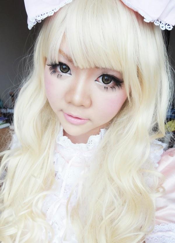 sweet lolita makeup