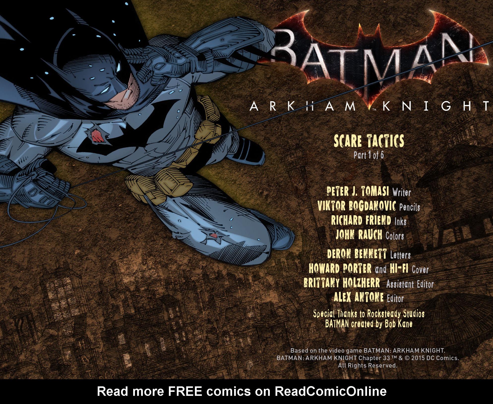 Batman: Arkham Knight [I] Issue #33 #35 - English 2