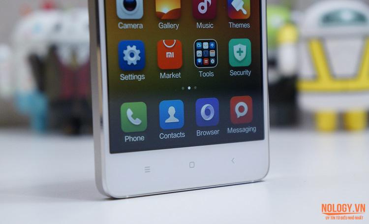 Thiết kế 3 phím quan trọng của Xiaomi Mi 4