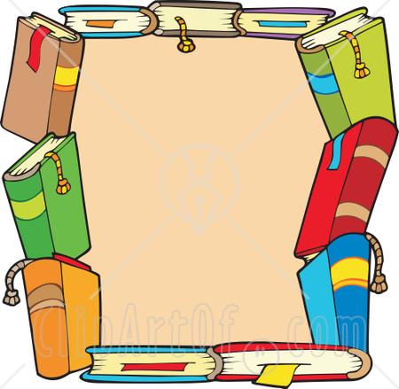 Go Back > Gallery For > Border Of Books