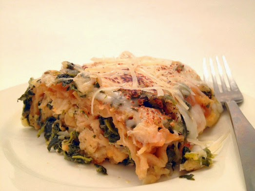 Chesapeake Bay Crab & Spinach Lasagna