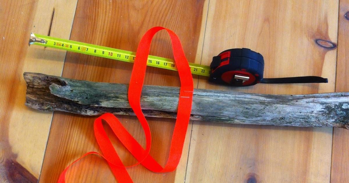 Fingernem: diy: byg dit eget tøjstativ af skovens grene