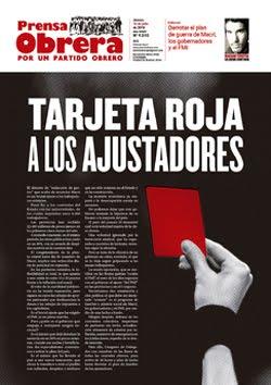 - - - - - - - Prensa Obrera Nº 1510 - - - - - - -