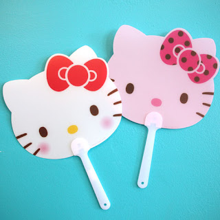 Hello Kitty Portable Hand Fan