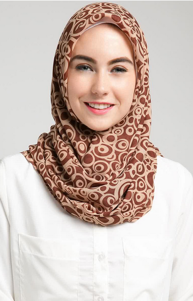 Contoh Hijab Modern Simple