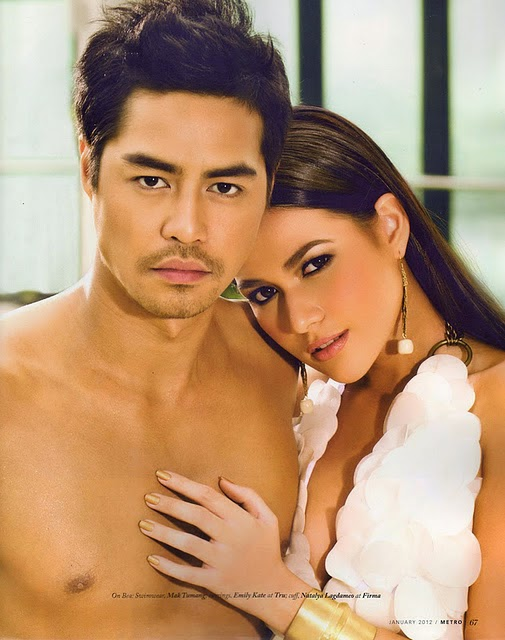 Bea Alonzo and Zanjoe Marudo get more intimate in a photo shoot