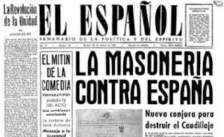 Masonería enemiga de España