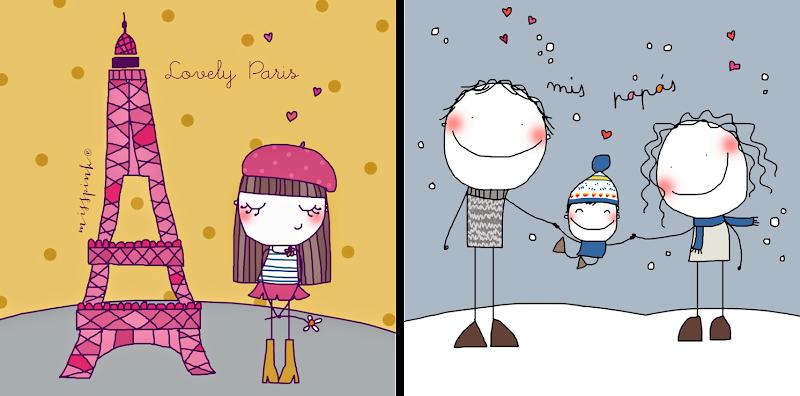 Ilustraciones misspink