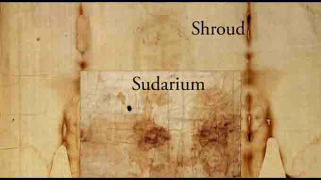 Shroud of Turin and the Sudarium of Oviedo.