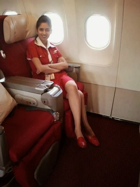 my ambition to become air hostess
