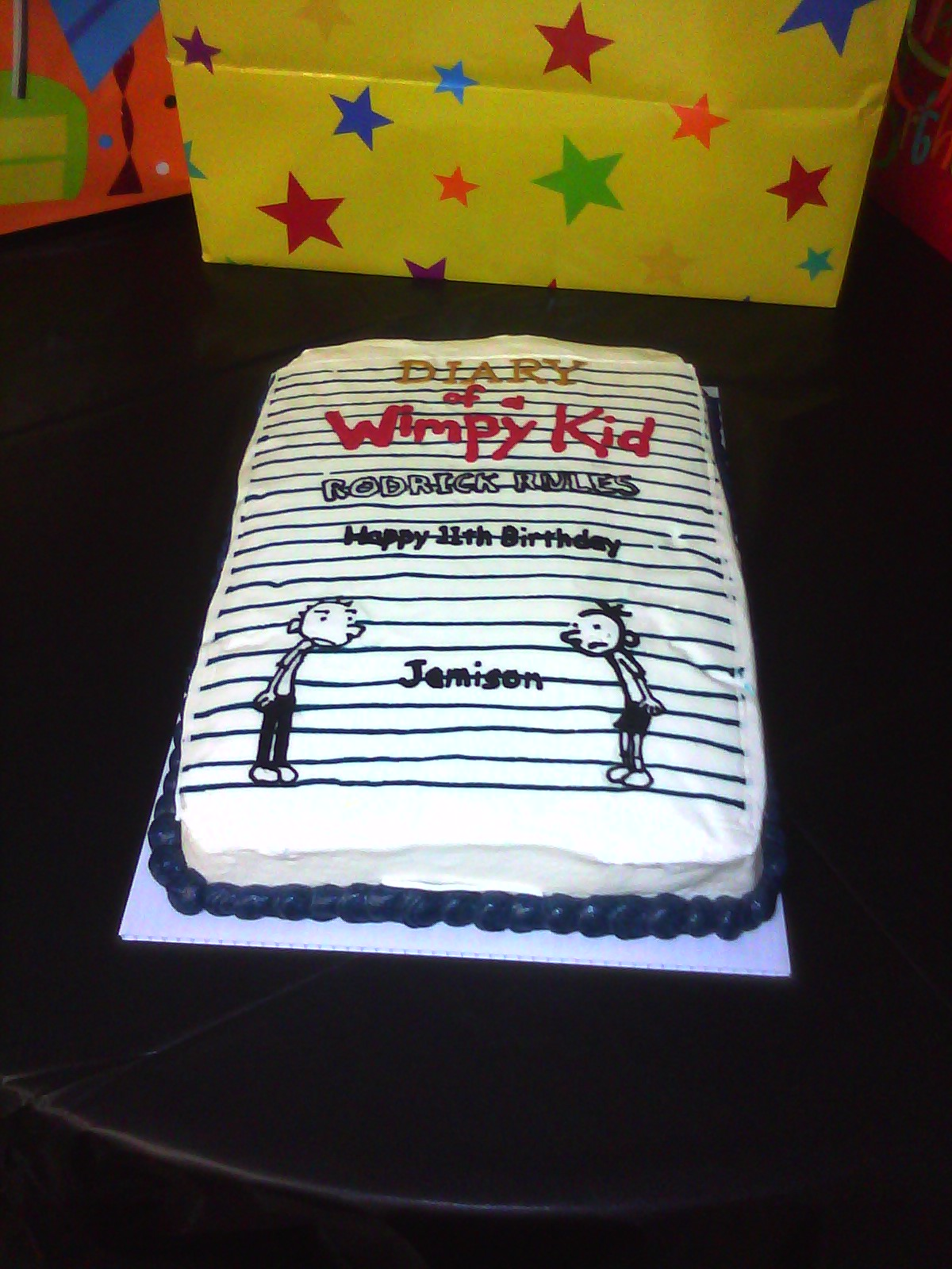 Happy 8th Birthday Jamison Diary Of A Wimpy Kid 2