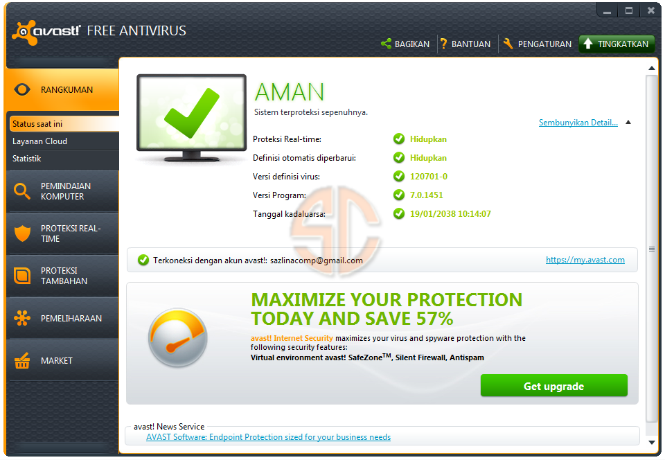 full avast antivirus download