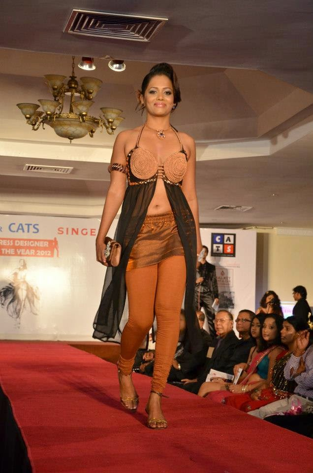 dress designer of the year contest of the Sunday Observer held at Grand Oriental Hotel
