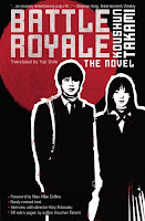 Book cover for Battle Royale by Koushun Takami