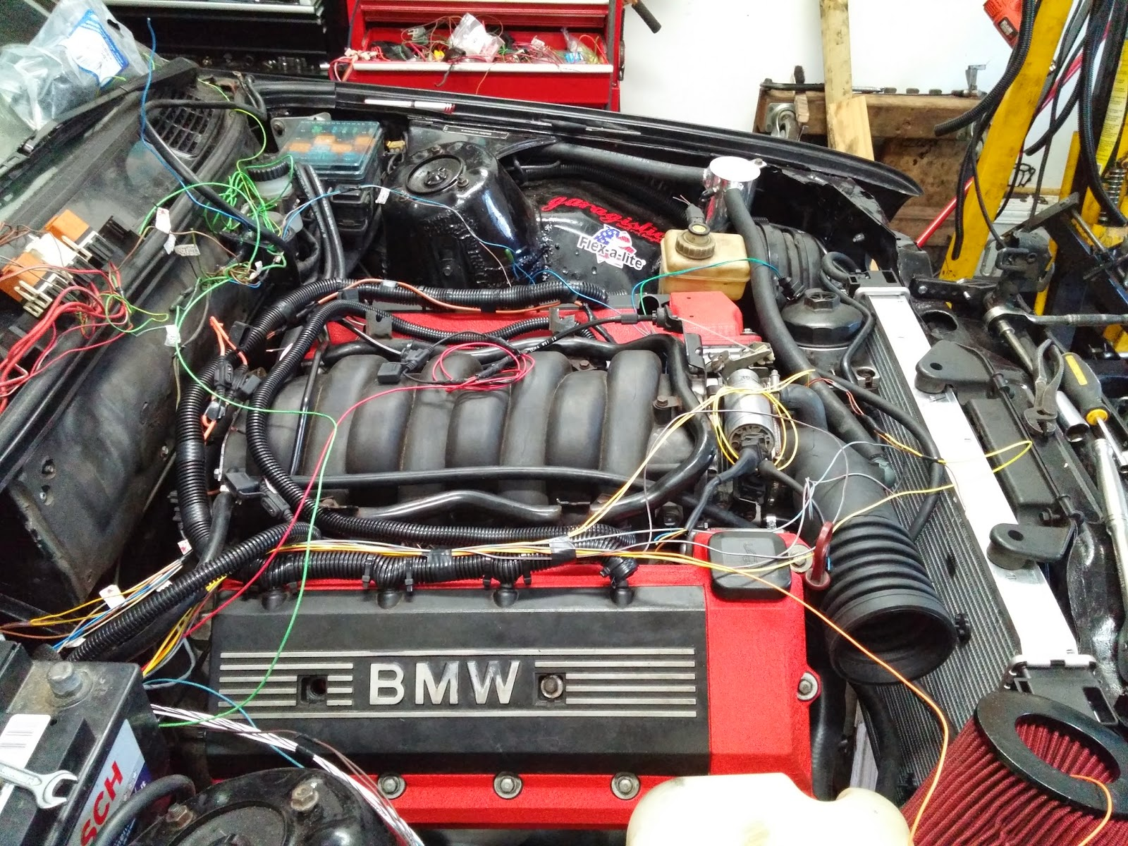 Denny\'s M62B44 swap (MS2 installed First start VIDEO inside) - Page ...