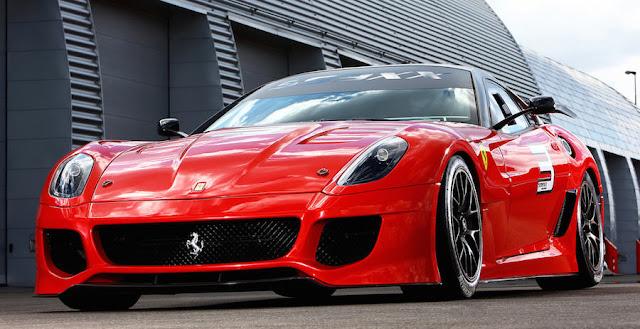 スーパーカー フェラーリ599XX