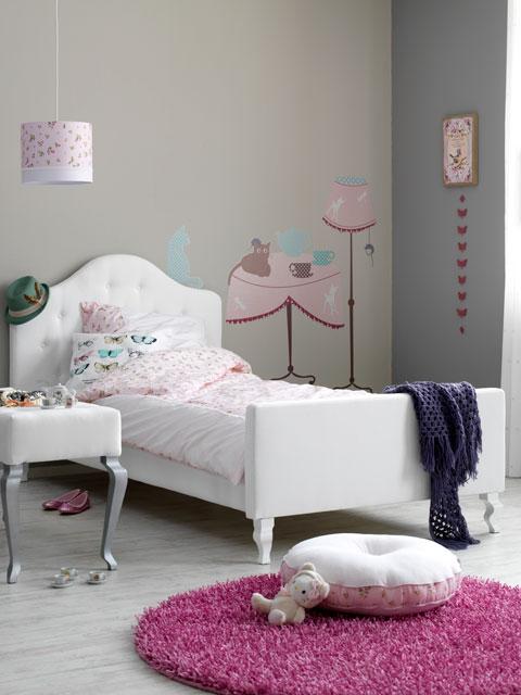 Te lo decoro todo habitaci n infantil en gris for Kamer decoratie meisje