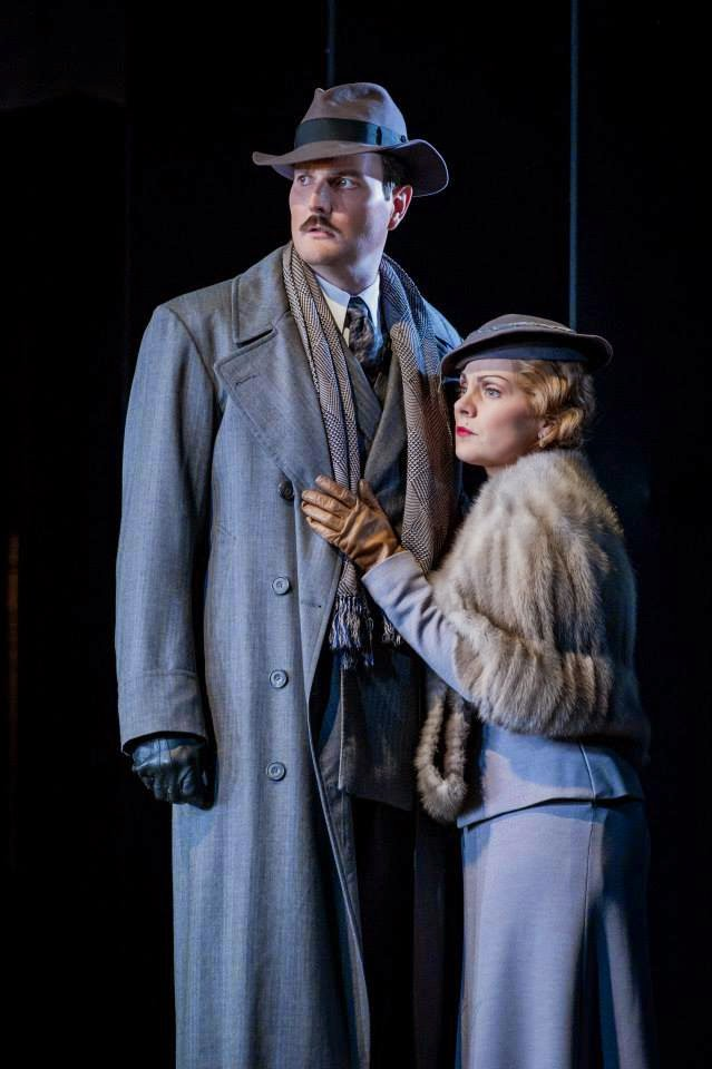 Nicholas Lester and Anne Sophie Duprels in Dvorak's The Jacobin at Buxton Festival Opera
