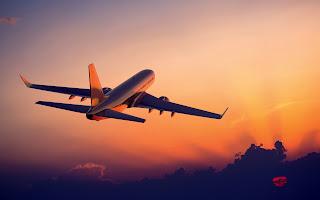 Amanecer visto desde un avión - Sunset