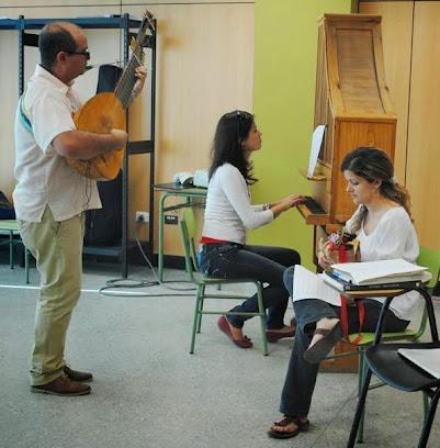 IV Edición Diplomado en Patrimonio Musical Hispano (marzo, 2014)