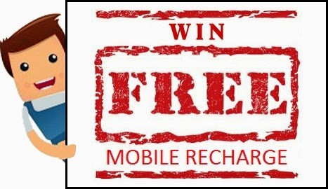 Mobile Recharge Giveaway